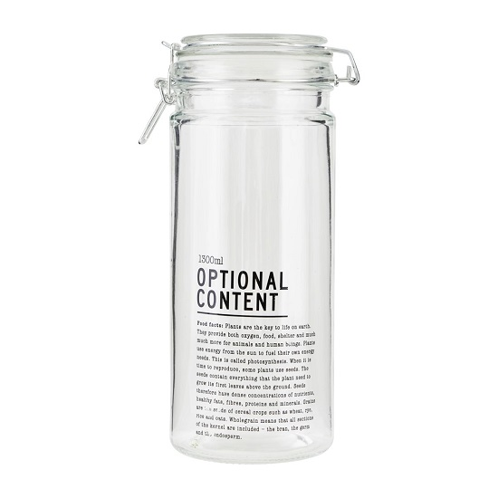 decorative-preserving-storage-glass-jar-container-with-lid-1300-ml-by-house-doctor