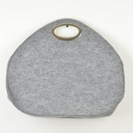 hand-made-felt-hand-bag-grey-with-silver-handle