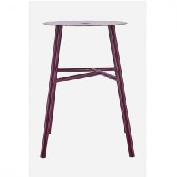 k-stool-modern-wine-red-stool-with-leather-top-from-house-doctor