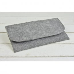 hand-made-women-felt-envelope-evening-handbag-purse-wallet-grey
