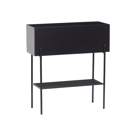 industrial-rectangle-black-metal-plant-trough-on-stand-by-hubsch
