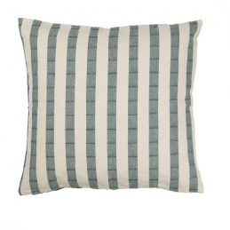 cushion-cover-with-wide-green-stripes-50-x-50-cm-by-ib-laursen