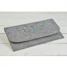 hand-made-women-felt-envelope-evening-handbag-purse-grey-wallet