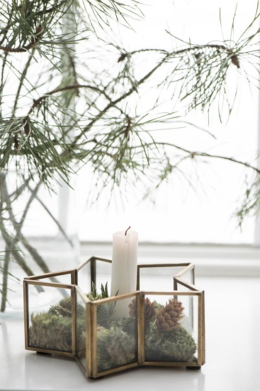 candle-light-holder-star-shaped-brass-ib-laursen