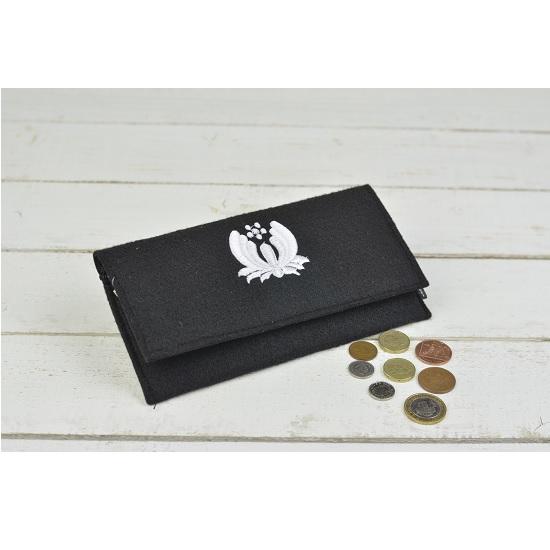 hand-made-women-wool-felt-purse-wallet-black-white