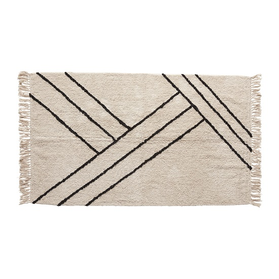cotton-rug-with-white-black-pattern-96-x-180-cm