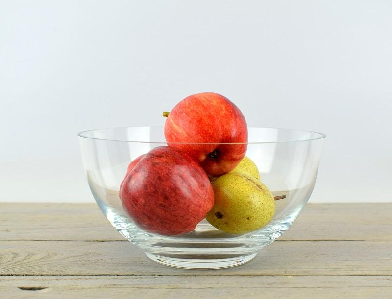 Handmade Clear Glass Bowl Trifles Fruit Salad Dish 10 3 Cm