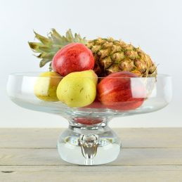 large-mouth-blown-clear-glass-footed-fruit-salad-bowl-dish-wedding-centerpiece