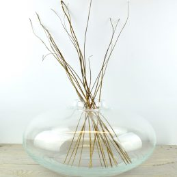 large-handmade-contemporary-clear-glass-flower-vase-bunch-bouquet