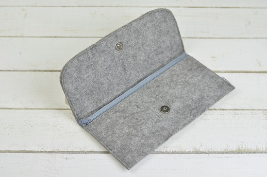 hand-made-women-felt-envelope-evening-handbag-purse-wallet-grey