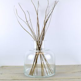 large-contemporary-clear-glass-flower-vase-bunch-bouquet