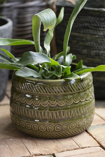 olive-pot-with-pattern-by-ib-laursen