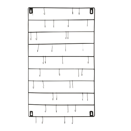metal-display-wall-hanger-with-40-small-hooks-ib-laursen