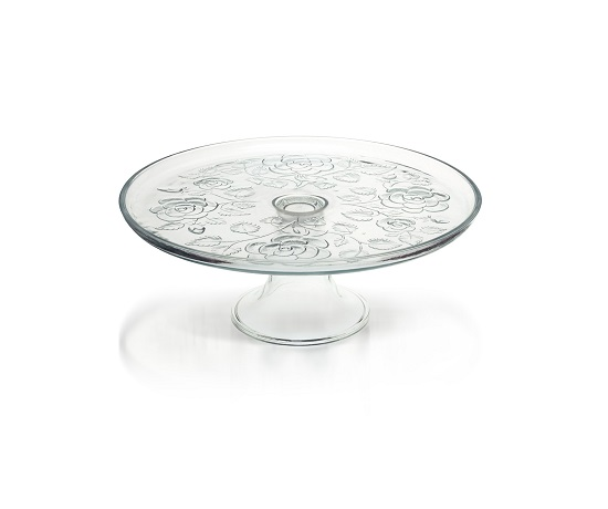 glass-display-cake-stand-plate-wedding-party-32-cm-rose