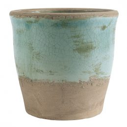 ceramic-pot-crackled-ocean-green-by-ib-laursen