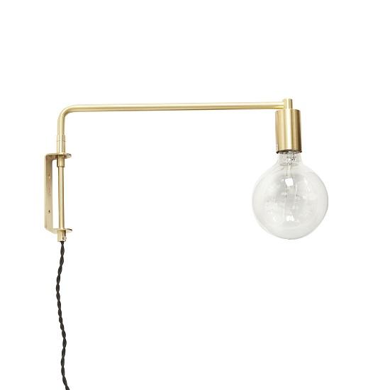brass-wall-light-lamp-with-bulb-danish-design-by-hubsch