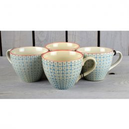 beautiful-retro-carla-tea-coffee-cup-blue-set-of-4-danish-desig-by-bloomingville