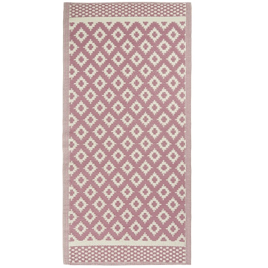 pink-rug-pattern-recycled-plastic-by-ib-laursen-180x90-cm