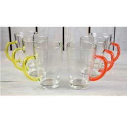 set-of-6-latte-cafe-glasses-300-ml-with-orange-yellow-handles