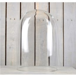 handmade-mouth-blown-clear-oval-glass-display-cloche-bell-jar-dome-48-cm