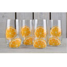 set-of-4-orange-glasses-for-juices-drinks-320-ml