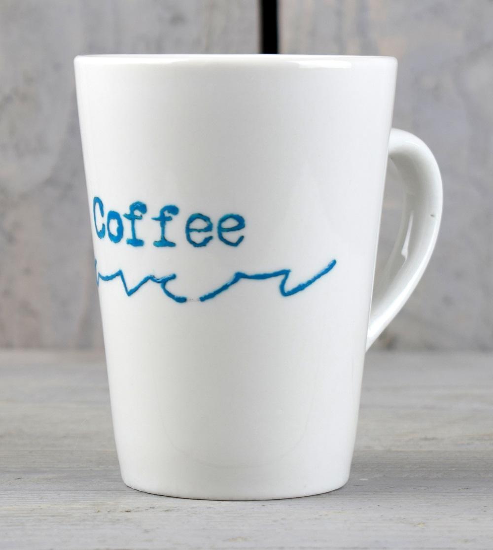 Hand Painted Mug Coffee