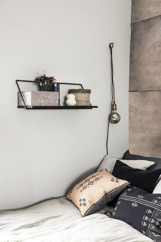 wall-hanging-wired-storage-shelf-70-cm-by-house-doctor-black-stain