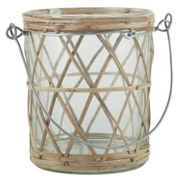 bamboo-braided-tealight-holder-with-metal-handle-by-ib-laursen