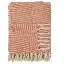 100-cotton-throw-cream-and-orange-window-pattern-blanket-by-ib-laursen