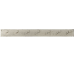 grey-metal-wall-mounted-coat-rack-with-7-hooks-by-ib-laursen