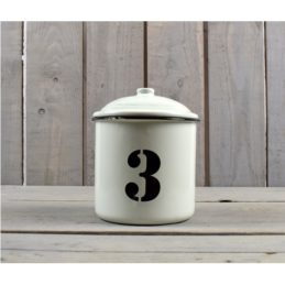 farmhouse-style-white-black-enamel-distressed-kitchen-storage-canister-jar-12-cm