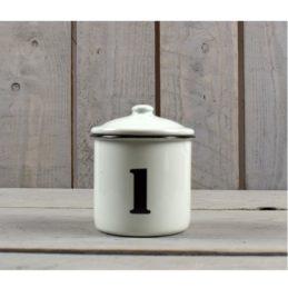 farmhouse-style-white-black-enamel-distressed-kitchen-storage-canister-jar-8-cm