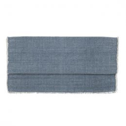 cotton-table-runner-dusty-blue-50x140-cm-by-ib-laursen
