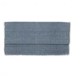 cotton-table-runner-dusty-blue-50x140-cm-by-ib-laursen