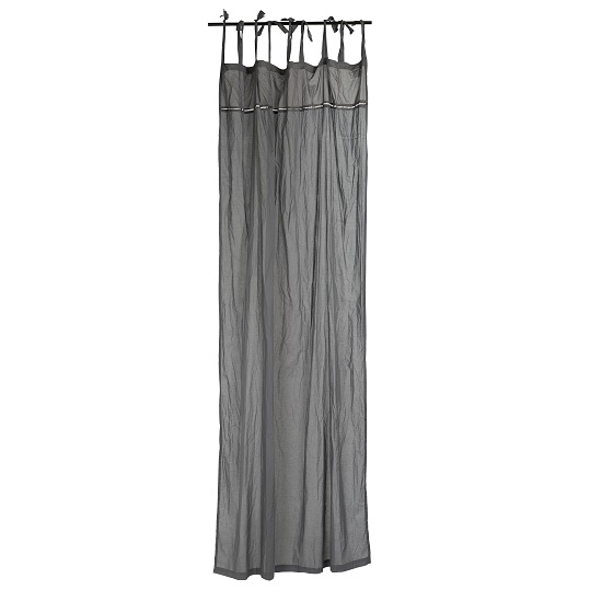 grey-cotton-curtain-with-tiebands-set-of-2-by-ib-laursen