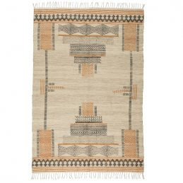 multi-colour-jute-cotton-rug-with-ink-pattern-120x180-cm-by-ib-laursen