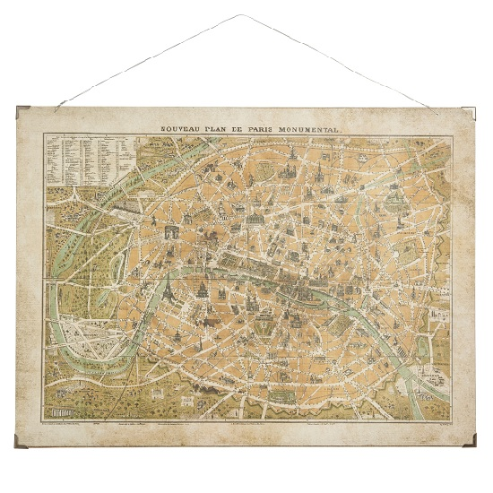 wall-art-beautiful-map-of-the-french-capital-of-paris-by-ib-laursen