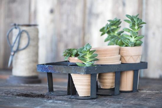 metal-serving-basket-for-6-glasses-by-ib-laursen