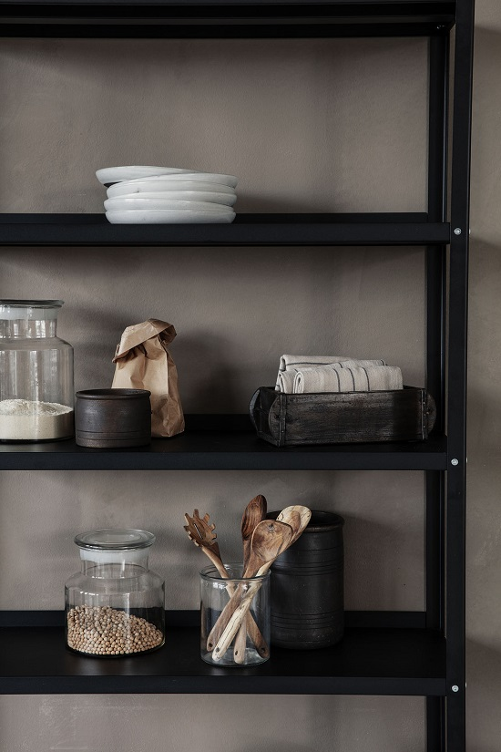 dark-brown-unique-rustic-wood-brick-mould-storage-box-by-house-doctor
