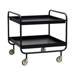 black-stunning-trolley-with-two-table-tops-as-trays-by-house-doctor