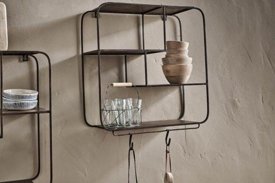 stylish-set-of-wall-hung-shelves-with-4-hooks-by-nkuku