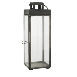 square-glass-lantern-pillar-candle-holder-with-hook-by-ib-laursen-24-cm
