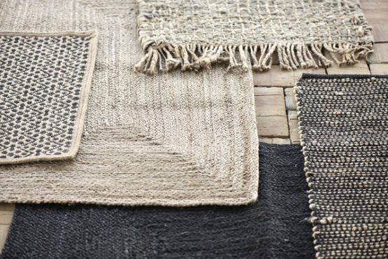 black-rectangular-jute-rug-braided-by-ib-laursen