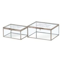 set-of-two-glass-trinket-box-with-metallic-detailing-and-mirror-bottom-by-hill-interiors