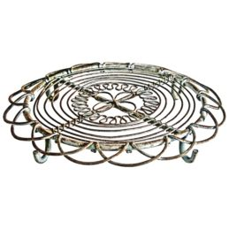 vintage-round-iron-trivet-hot-plate-stands-kitchen-worktop-rustic-by-originals