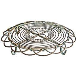 vintage-round-iron-trivet-hot-plate-stands-kitchen-worktop-rustic-by-originals