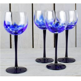set-of-4-blue-confetti-handmade-wine-glasses-350-ml