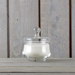 handmade-clear-glass-sugar-bowl