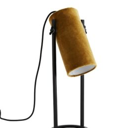 modern-iron-table-lamp-with-yellow-velvet-lampshade-by-madam-stoltz