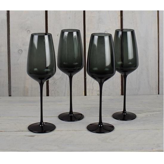 set-of-4-black-handmade-wine-glasses-300-ml